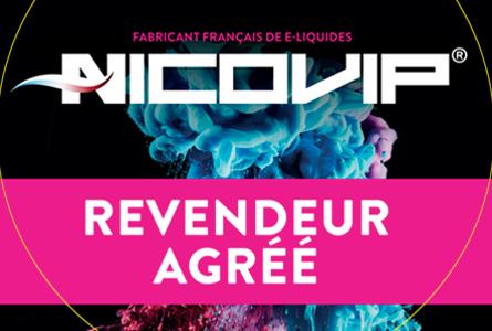 Revendeur e-liquides Nicovip - Grossiste Cigapro