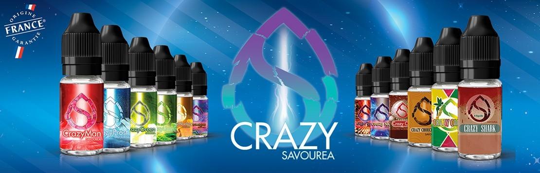 E-Liquides Crazy Savourea
